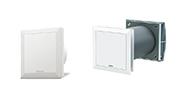 Helios Ventilatoren: MiniVent® M1 und EcoVent Verso KWL EC 45