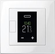 Programmierbarer Universal-Temperaturregler-Einsatz mit Touch-Display von Merten